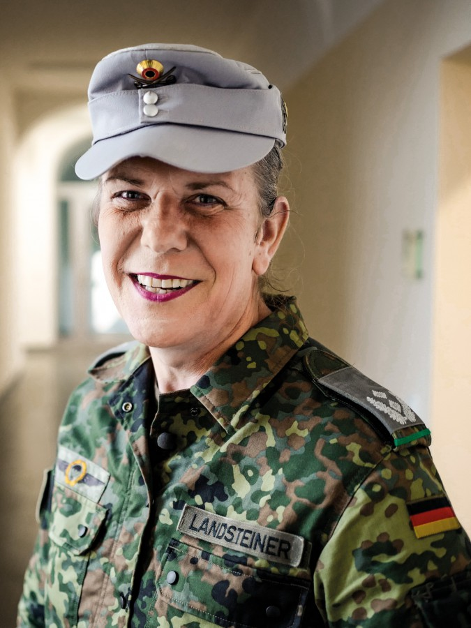 Frau Oberst Elisabeth Sophia Landsteiner
